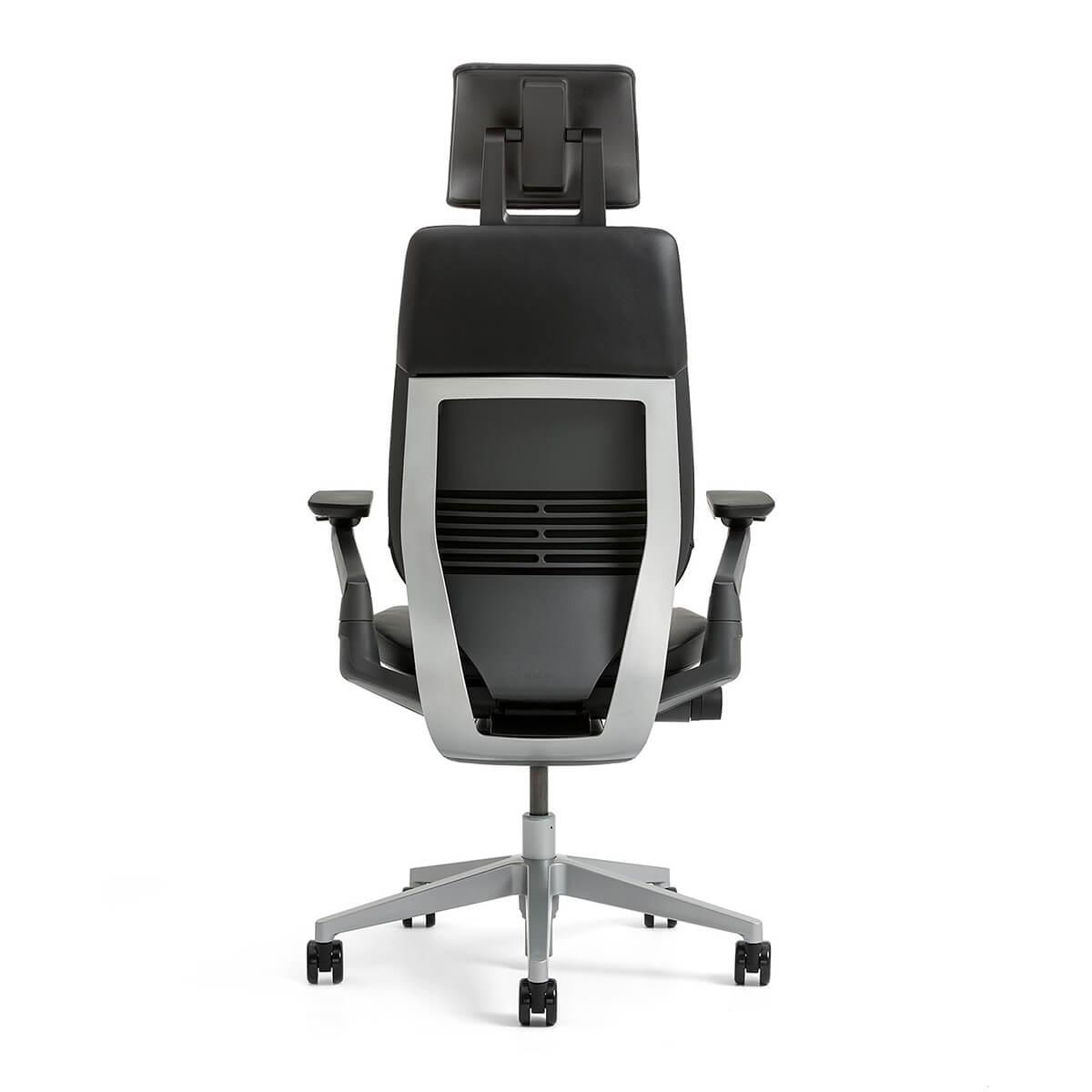 Steelcase GESTURE Arbeitsstuhl mit Kopfstütze und Stofftop