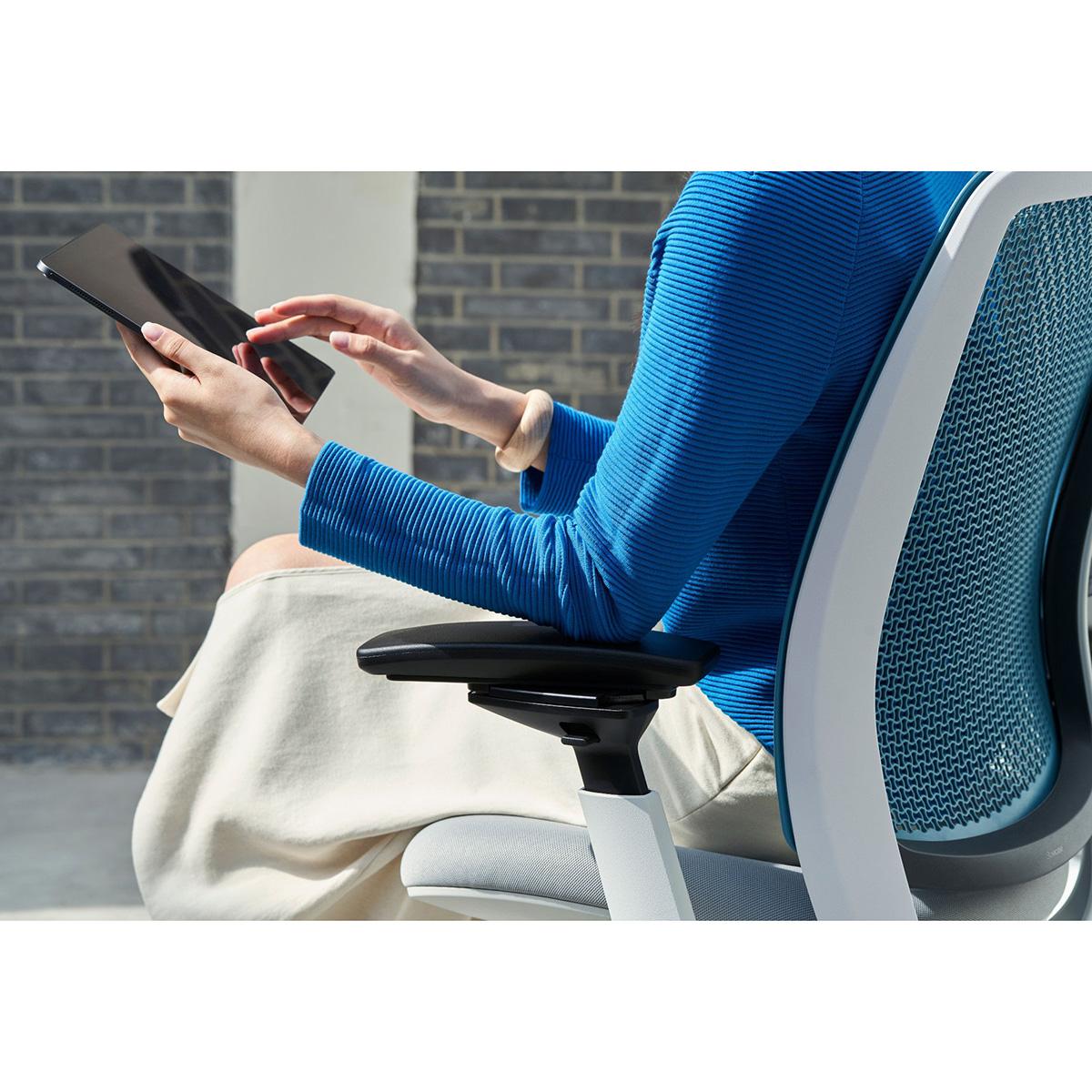Steelcase SERIES 2 Bürostuhl, gewichtsaktiviert, vollgepolstert