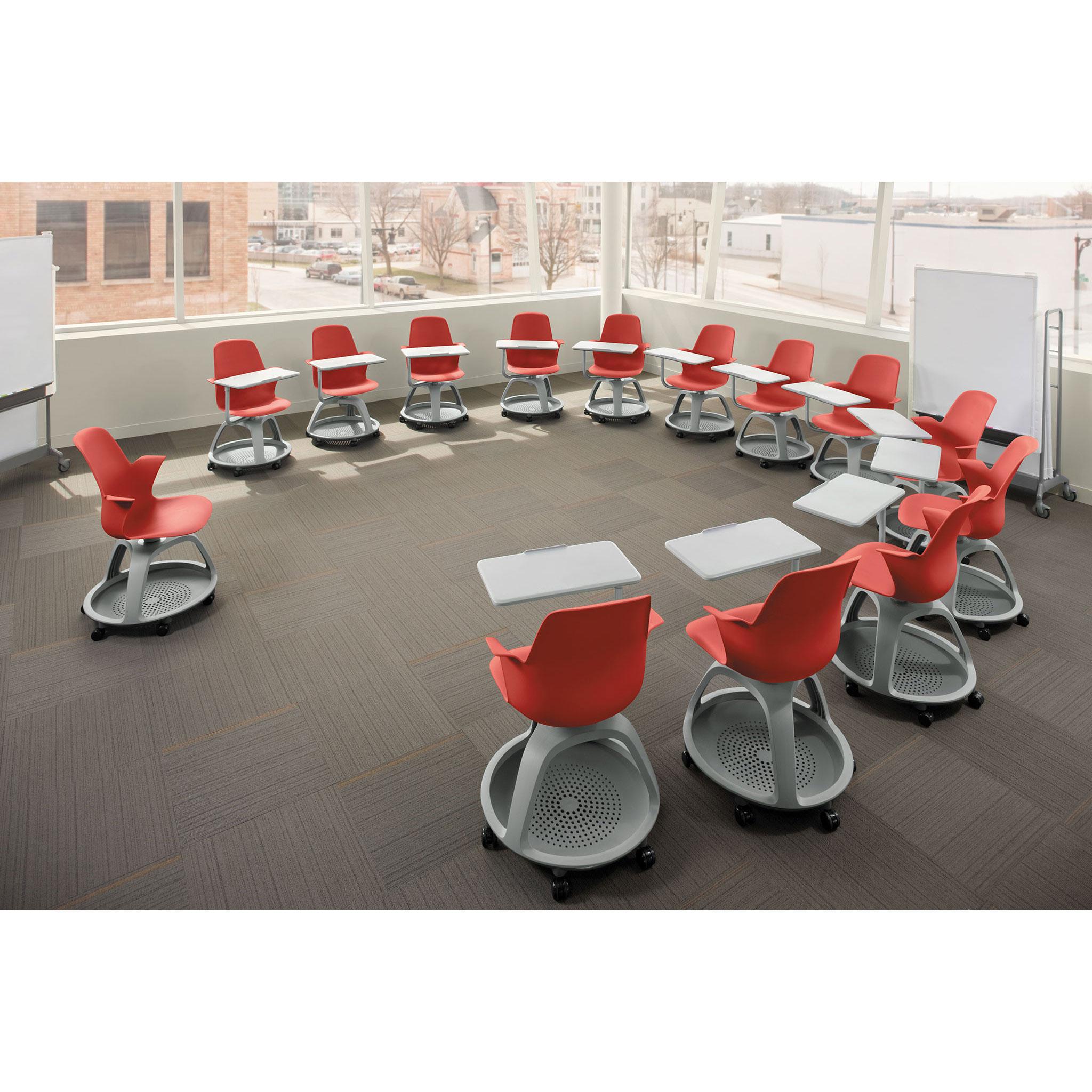 Steelcase NODE Seminar- und Unterrichtsstuhl ohne Schreibplatte