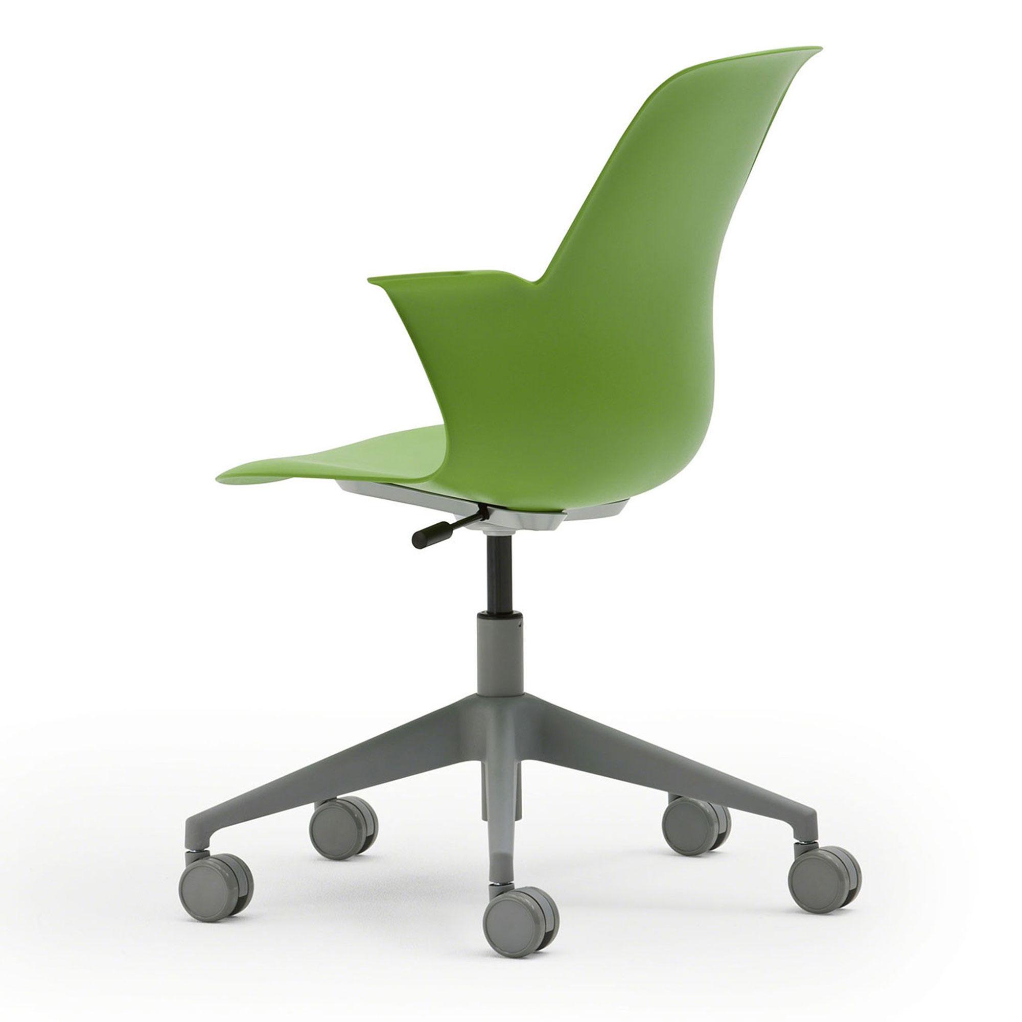 Steelcase NODE Seminarstuhl mit 5-Sternfußkreuz ohne Schreibtablar