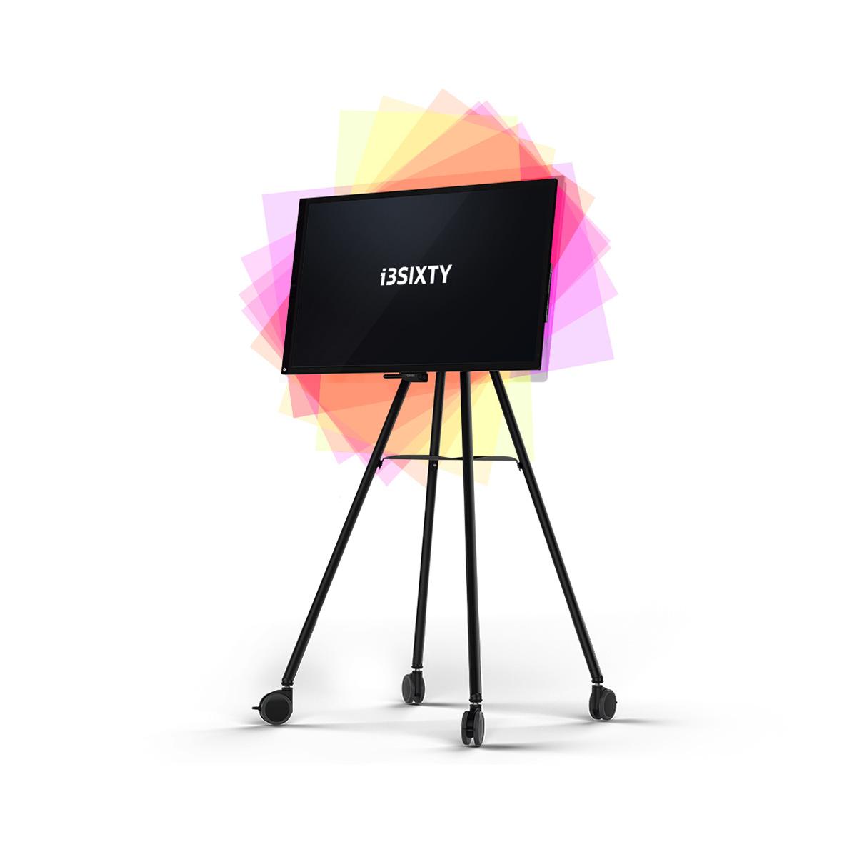 i3TOUCH i3SIXTY mobiles interaktives Whiteboard auf Rollen