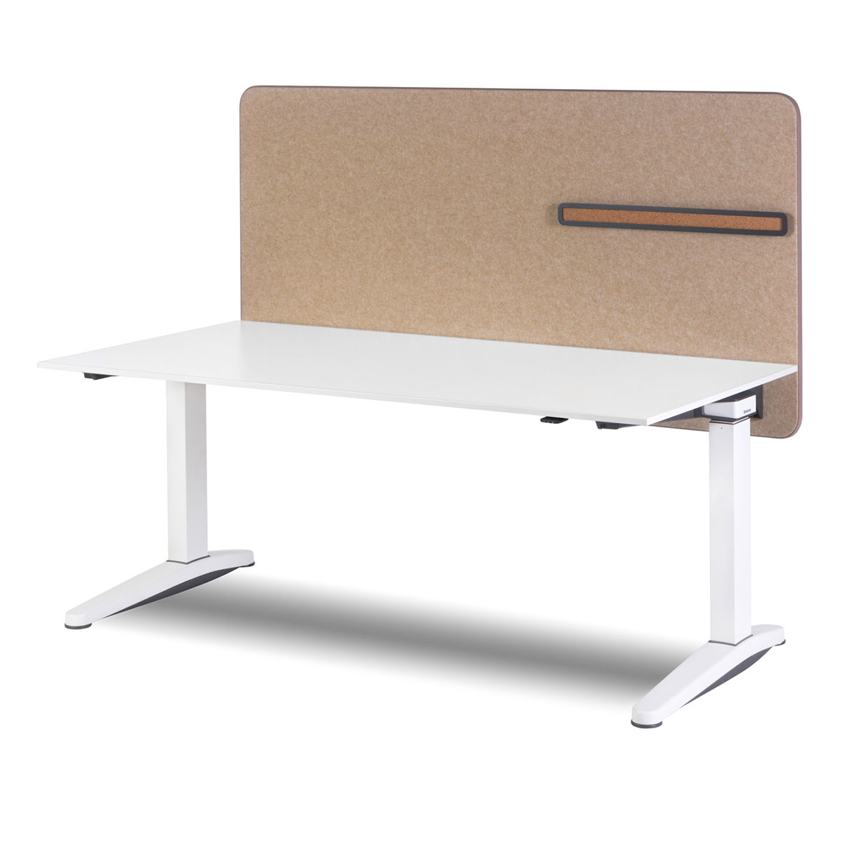 Steelcase OLOGY elektrisch höhenverstellbarer Schreibtisch, 650 - 1.250 mm Höhe