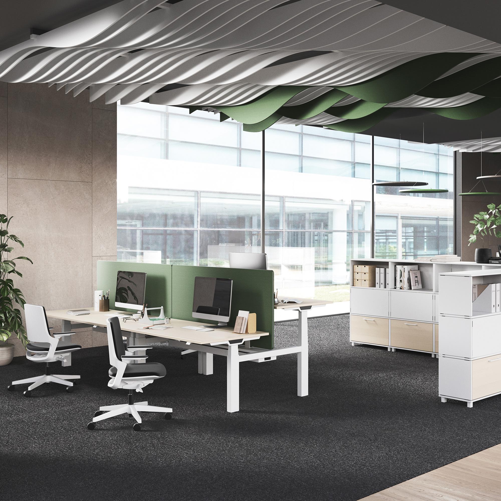 Palmberg CREW T Schreibtisch elektrisch höhenverstellbar, Made in Germany