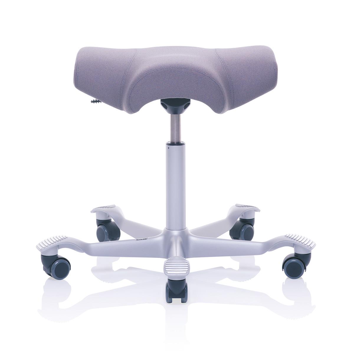 HAG Capisco 8105 Arbeitsstuhl ohne Rückenlehne mit Sattelsitz