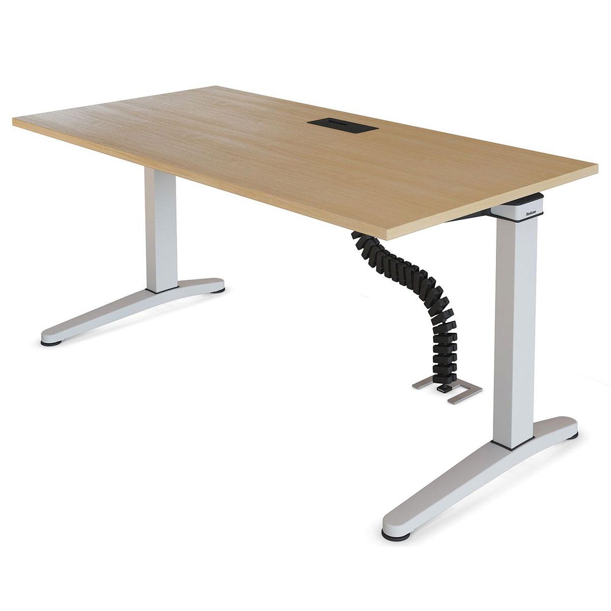 Steelcase OLOGY elektrisch höhenverstellbarer Schreibtisch, 720 - 1.200 mm Höhe
