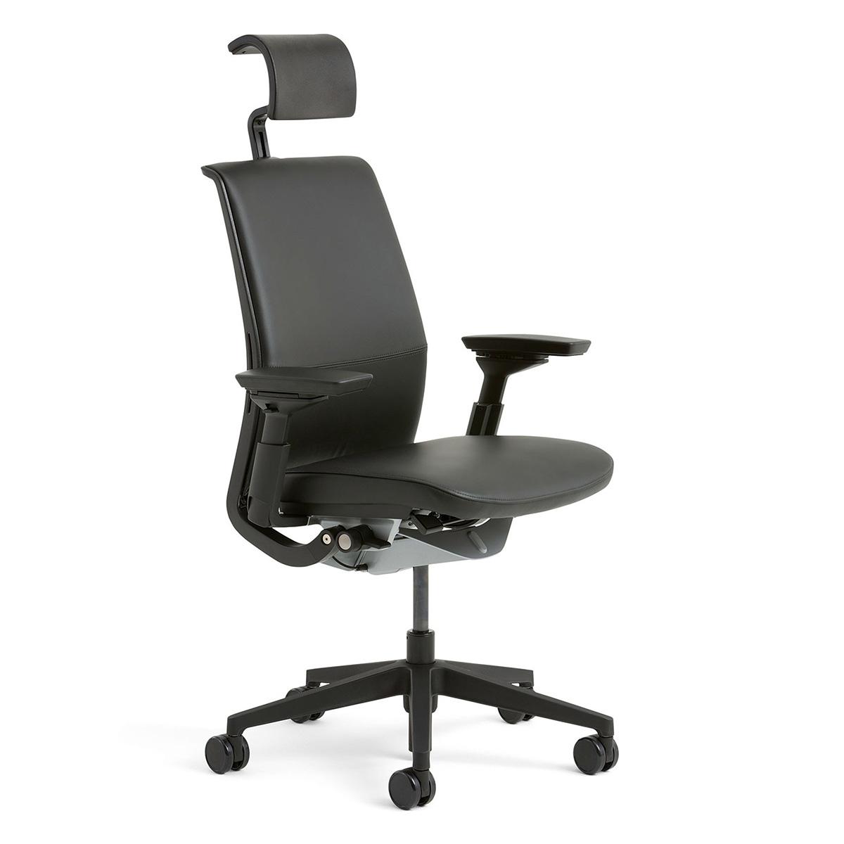 Steelcase THINK ergonomischer Arbeitsstuhl, Rücken und Sitz gepolstert