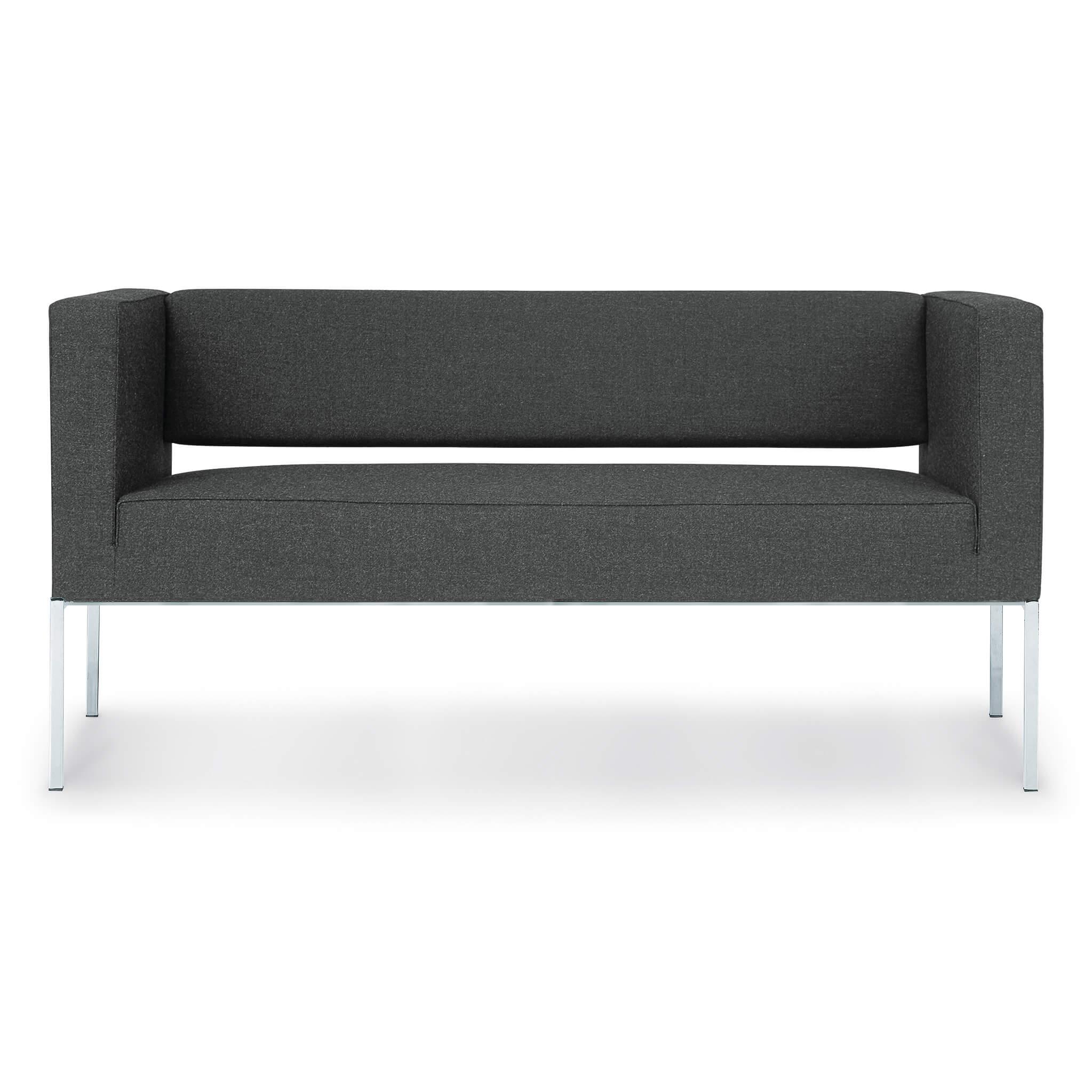 ZÜCO Rilasso RS 0812 Loungesofa, 2-Sitzer mit Design-Gestell für den Loungebereich