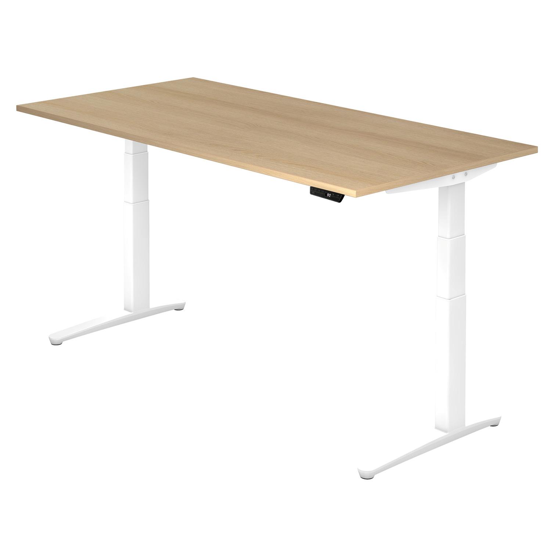 Elektrisch höhenverstellbarer Schreibtisch OKLAHOMA in verschiedenen Größen