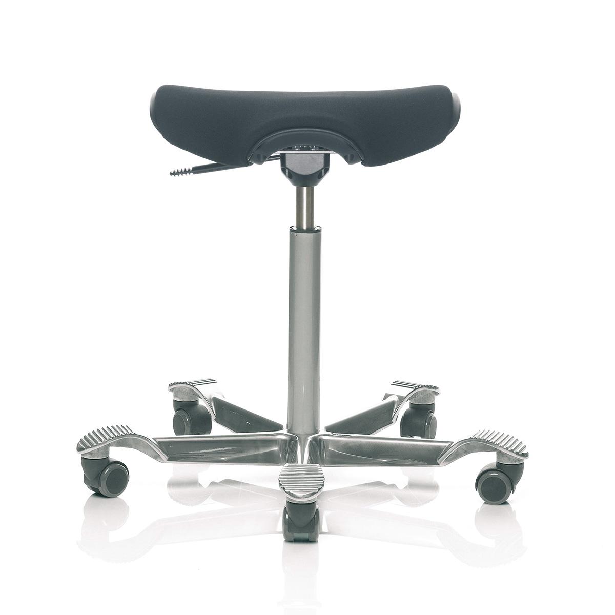 HAG Capisco Puls 8002 Sitzhocker mit gemütlicher Sitzflächenmatte