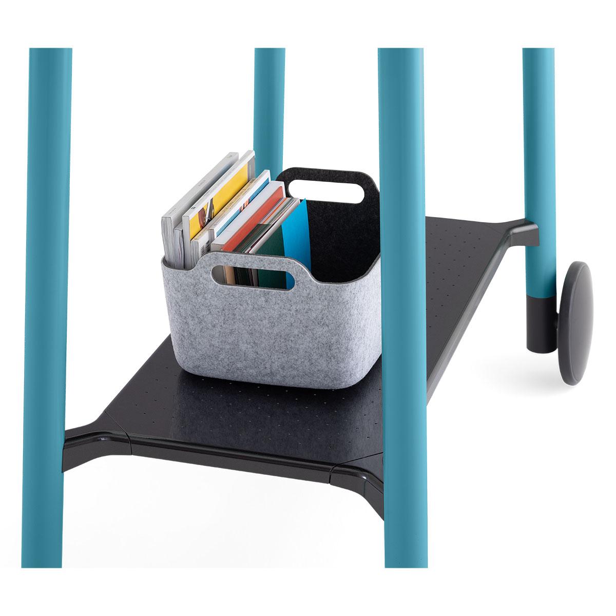 Steelcase Flex Collection Stehtisch mit Rollen, konfigurierbar
