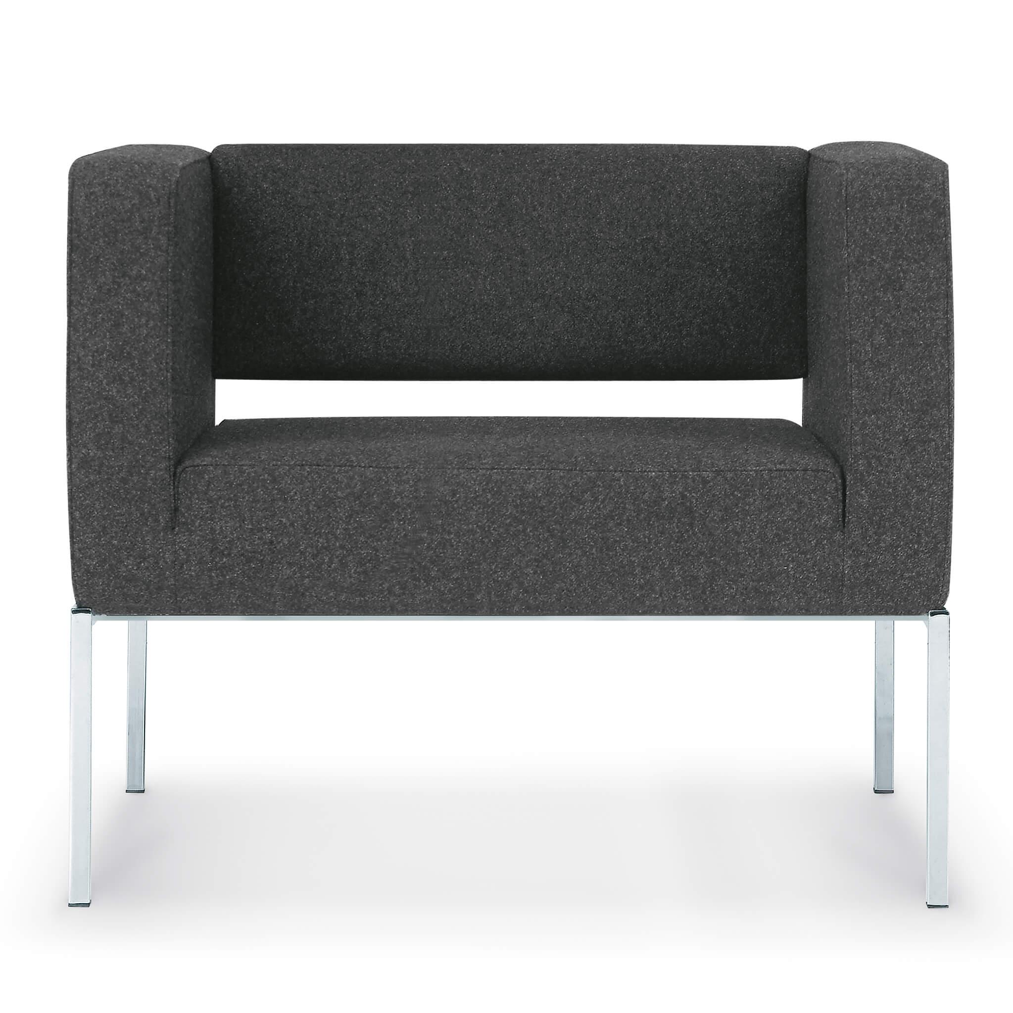 ZÜCO Rilasso RS 0811 Loungesessel für Wartebereiche, Mittelzonen und Chefbüros