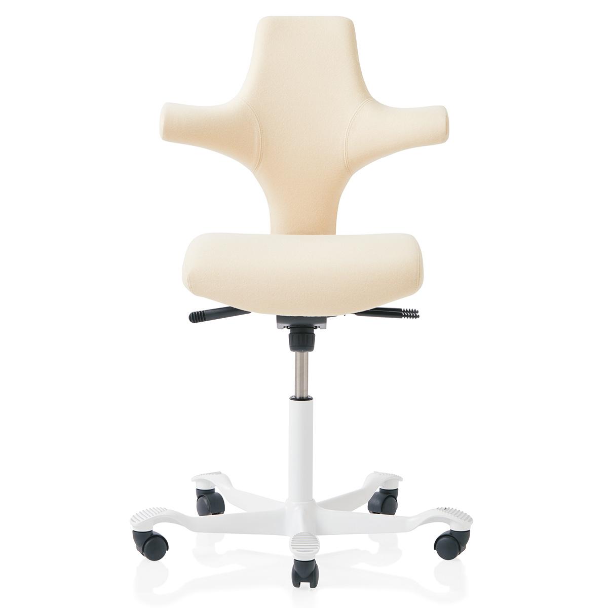 HAG Capisco 8126 Bürostuhl mit Flachsitz und ergonomischer Lehne